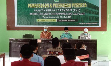 STMIK Syaikh Zainuddin NW Gelar PKL 2021